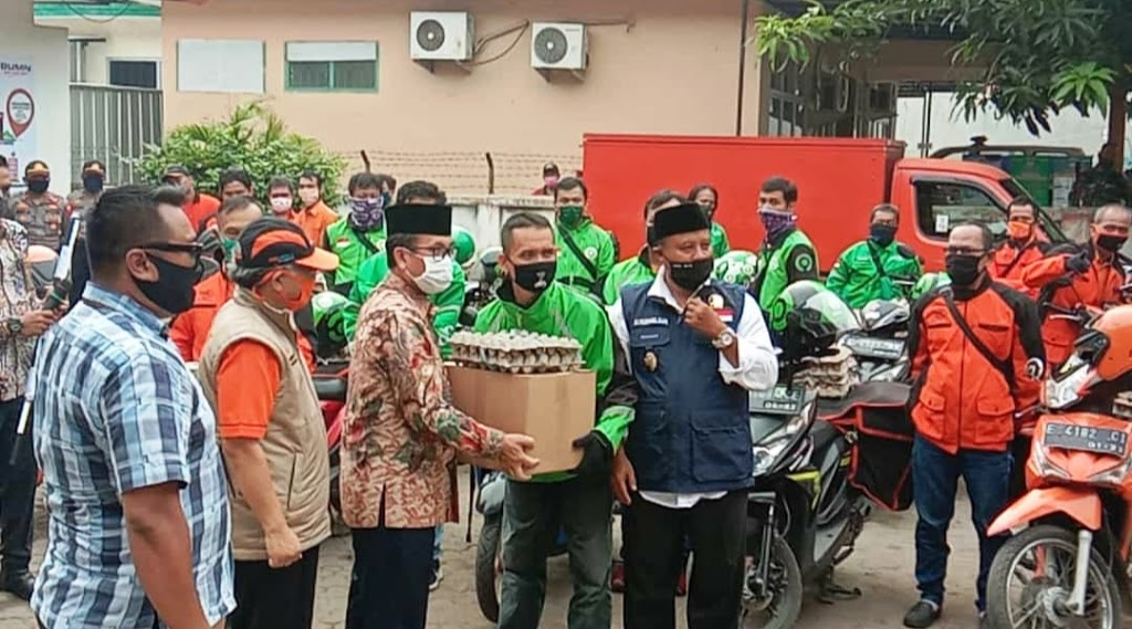 Kantor Pos Cabang Sumber Ditunjuk sebagai Kali Pertama Peluncuran Bantuan Sosial terdampak Covid-19 dari Propinsi Jawa Barat