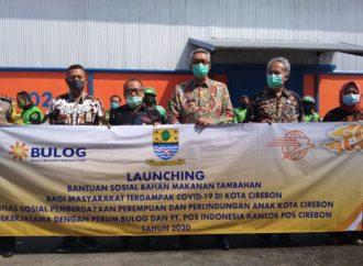 Pemda Kota Cirebon Kembali Salurkan Bansos Untuk Keluarga Terdampak Covid-19