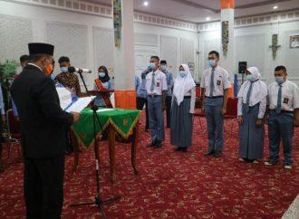 Wali Kota Kukuhkan Duta Hukum HAM dan Lingkungan di Kota Cirebon