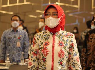 Wabup Ayu Hadiri Kegiatan IK-CEPA dan UMKM Daerah di Kota Bandung