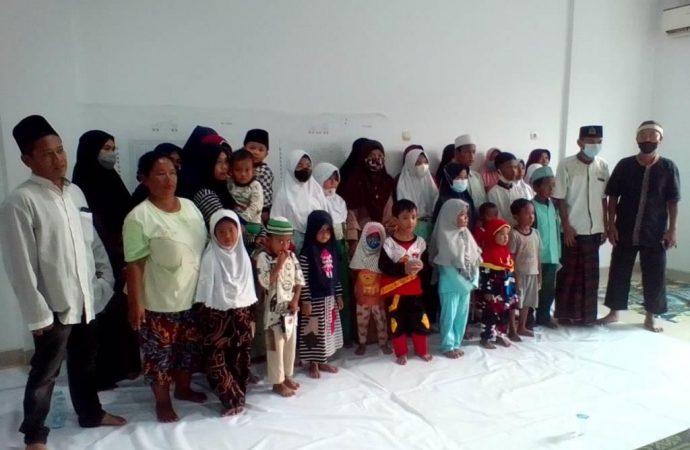 Pembangunan Revitalisasi Pasar Junjang Cirebon, PT Dumib Adakan Do'a Bersama Anak YatimUntuk Kelancaran