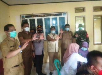 Jemput Bola Gervak Covid-19 di Desa Sancang Disambut Antusias Masyarakat