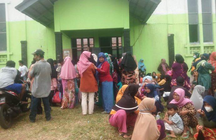 Gervak Covid-19  di Desa Kertasari Kecamatan Cipatujah Disambut Antusias