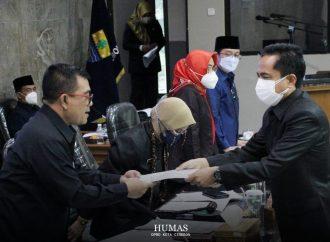 DPRD Setujui Raperda Pengelolaan BUMD, Walikota Sampaikan 5 Raperda Prakarsa Eksekutif