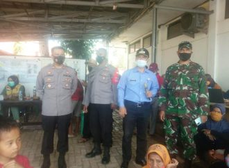 Gurubag Kuprak Gebyar Vaksinasi di Kecamatan Cibalong Kabupaten Garut